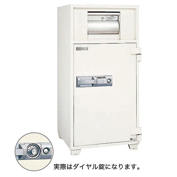 クマヒラ 投入金庫<ダイヤル> DS-21b