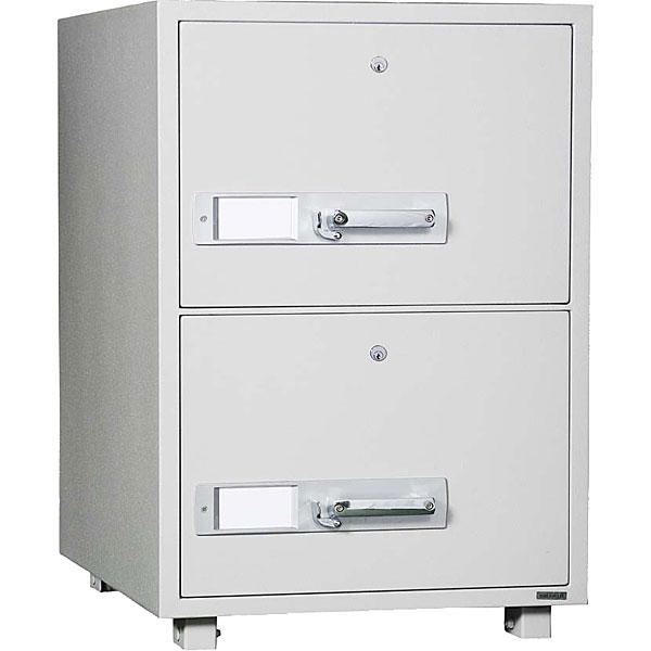 ダイヤセーフ 耐火キャビネット<シリンダー錠> DSF680-2K