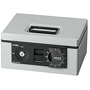 CARL(カール事務器) キャッシュボックス<ダイヤル>CB-8560-G グレー