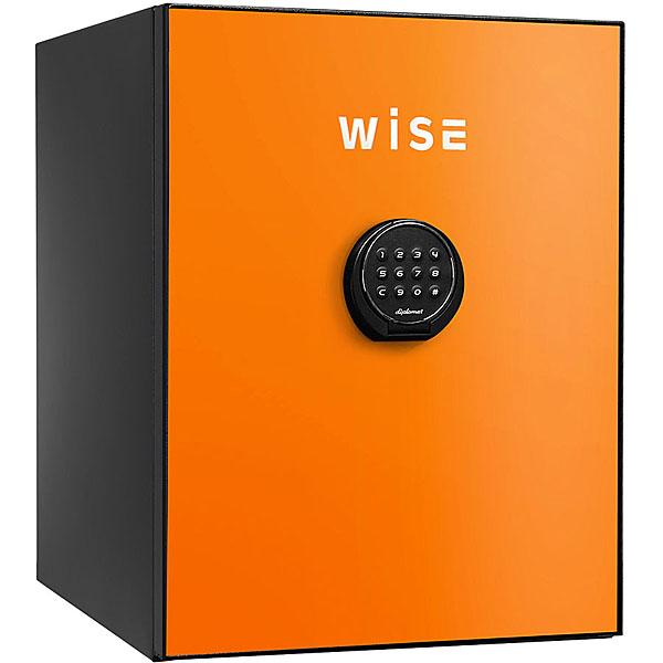 【据付設置費無料】diplomat(ディプロマット)wise耐火金庫<テンキー>(オレンジ) WS500ALO